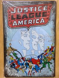 Kyltti Justice League of America